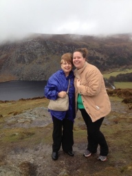 The trip Mom and I took to the Wicklow Mountains was the hardest. It was lovely. However, I was carsick. We were on a tourbus in the mountains. Not so great!